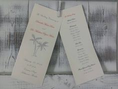 Check out this item in my Etsy shop https://www.etsy.com/listing/266238743/wedding-ceremony-program-double-sided