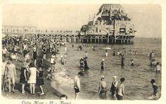 Ostia anni 30 Summer Days, Old Photos, Paris Skyline, Rome, The Past, Italy, History, World, Travel
