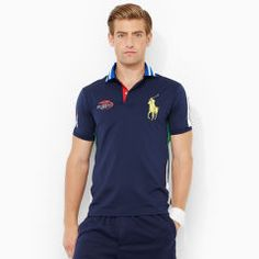 US Open Ball Boy Polo Shirt - RLX Tennis Classic-Fit - RalphLauren.com