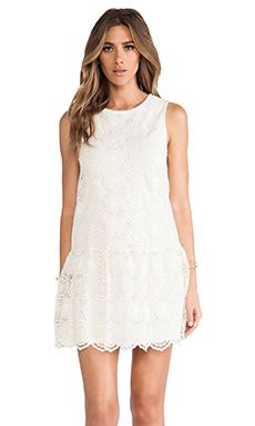Ella Moss Hanalei Crochet Dress in Natural | REVOLVE
