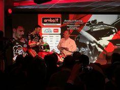 Davide Giugliano, uno dei piloti ufficiali dell'Aruba.it Racing - Ducati Superbike Team 2015
