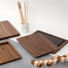 Wooden iPad Case by Woodero | MONOQI #bestofdesign https://www.pinterest.com/pin/469218854903670064/
