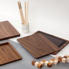 Wooden iPad Case by Woodero   MONOQI #bestofdesign