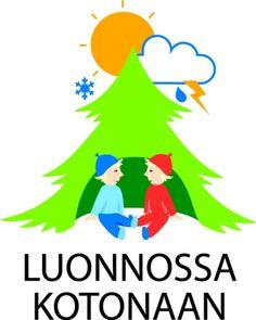 Luonnossa kotonaan - Suomen Latu Environmental Science, Walking In Nature, Drawing, Crafts For Kids, Activities, Education, Logos, School, Flowers