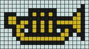 Alpha Friendship Bracelet Pattern #10061