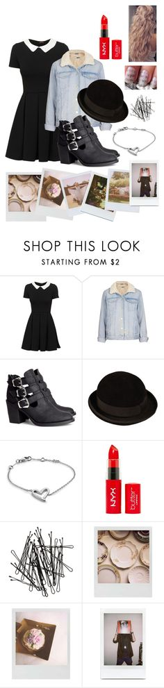 """Let go of your heart, let go of your head and feel it now Babylon"" by ebgleek ❤ liked on Polyvore featuring Topshop, H&M, CÉLINE, Calvin Klein, Polaroid, Band of Outsiders and Fuji"