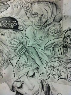tattoo drawiing