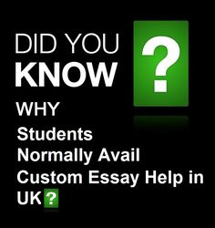 Do You Know Why Students Normally Avail Custom Essay Help in UK? Read this blog to know about it @ http://yourassignmenthelper.over-blog.com/2016/10/why-students-normally-avail-custom-essay-help-in-uk.html