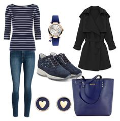 Untitled #207 by filomenamaria on Polyvore featuring polyvore fashion style Hogan Rebecca Minkoff Brooks Brothers Vivienne Westwood clothing