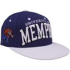 NCAA Memphis Tigers Super Star Snapback Cap, Dark Royal by Zephyr. $21.95. 65% Acrylic / 35% Wool. Adjustable snapback hat. Memory visor. Officially licensed hat. Zephyr snapbacks are constructed to meet the desires of the consumer. Zephyr hats feature professional embroidery and detailed raised logos. The Zephyr Memory Visors are constructed with the best materials allowing you to bend the brim or keep it flat.  About Zephyr Zephyr was established in 1993 by former re...