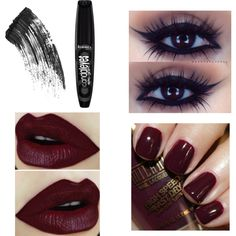 """Dark yet elegant"" by dearbhla-doherty on Polyvore"