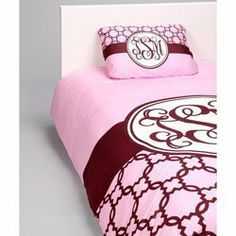 Classy Pink Personalized Bedding Set - Size King by Ababy. $259.00. Includes: Twin: Duvet and pillowcase . Machine Washable.  Full/Queen and King: Duvet and 2 pillowcases. PLEASE TYPE THE CHILDS NAME IN THE GIFT MESSAGE SECTION OF YOUR ORDER, OTHERWISE A FRIENDLY REPRESENTATIVE WILL CONTACT YOU.. Fabric Content: Microfiber blend. Simplistic Elegance Your little girl will love our Classy Pink Personalized Bedding Set. The classy brown design on the pink background will add a sle...