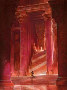 The Meereenese Throne Room by Marc Simonetti