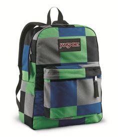 Jansport Black Label Superbreak Backpack In Blue Streak Giant