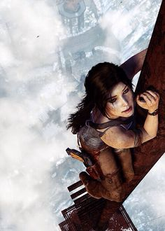 Tomb Raider. Loved this part of the game. Didn't help my fear of heights though