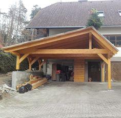 Traditionelles Carport