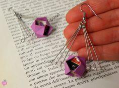 Handmade paper jewels - RavaPops Collection - gioielli di carta fatti a mano  #origami #paperjewellery #paper