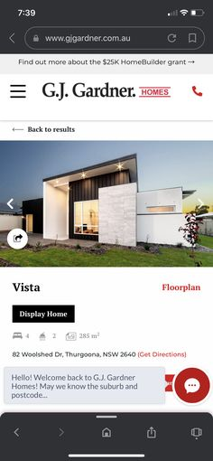 Facade House, House Exteriors, Display Homes, Get Directions, Building A House, New Homes, Floor Plans, Build House, Floor Plan Drawing