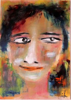 Buy Faces, 2 of 14, oil on cardboard, 21 x 30 cm, Oil painting by Ingrid Knaus on Artfinder. Discover thousands of other original paintings, prints, sculptures and photography from independent artists.
