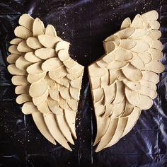Unfired Ceramic Angel Wings - Seramik Melek Kanatları  Handmade - Handbulding Ceramics - Seramik