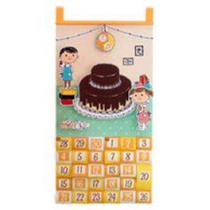 Birthday countdown calendar,Advent calendars,Calendars,party,calendar,decoration