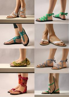 10 Fantastic Flip Flop Refashions I'm so picky with sandals. I need to customize my own.