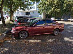 BMW E39 5 Series 520i royal red