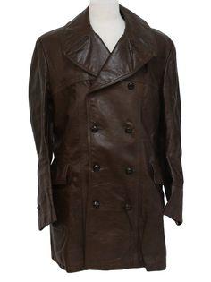Leather barnstormer car coat possible match more barnstormer car