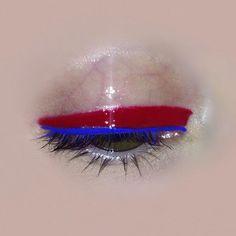 Scarlet & marine eye goals by me    #makeup #makeupartist #beasweet #eyeliner #fashion #fashionmakeup #beauty #gloss #eyegloss #fashionblogger #beautyinfluencer #makeupidea