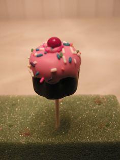 Cupcake cake pops #wiltoncontest