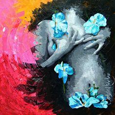 Tus manos se juntaron en mi pecho Beatriz Hidalgo Acrílico sobre canvas 1.00 x 1.00 Mt. Mayo 2015. Precio: $25,000.00 www.galeriartenlinea.com #pasionporelarte - Exposición Colectiva Multidisciplinaria 46 Artistas, 74 piezas #arte #art #arts #pintura #painting #escultura #sculpture #dibujo #drawing #grafica #graphic  #colectiva #collective #color #life #vida #multidisciplinaria #multidisciplinary #galeria #gallery  #artists #artistaplastico #proyectonomada #CDI #centrodeportivoisraelita