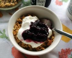 decadent mornings: salted nutty brown butter granola