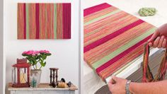 How to make a yarn wall-hanging - Better Homes and Gardens