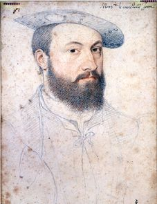 Anne de Montmorency (1493-1567). Son of Guillaume de Montmorency and Anne Pot. Husband to Madeleine of Savoy