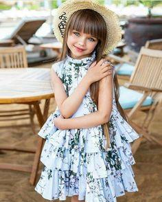 Young Girl Models, Little Girl Models, Little Girl Dresses, Flower Girl Dresses, Anastasia Knyazeva, Dress Up Shoes, Cute Kids Photography, Indian Beauty Saree, Beautiful Children