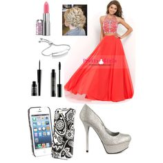 Clare's Prom 2k15! by avacartwright on Polyvore featuring polyvore, fashion, style, Qupid, Monica Vinader, Vera Bradley and Lord & Berry