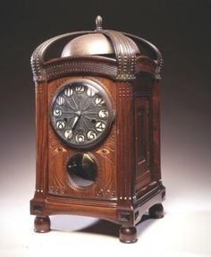 Table Clock, 1906, Netherlands Amsterdam