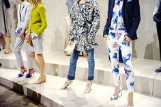 Bold prints, coming this spring | Banana Republic Spring '16 NYFW Presentation
