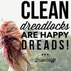Clean dreadlocks are happy dreads! Get your favorite dreadlock shampoo from dreadstuff today!