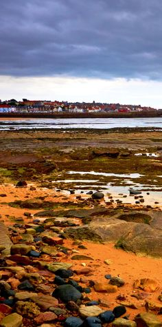 At low tide, you can see the rocky shoreline of the East Neuk of Fife.   |   19 Reasons Why Scotland Must Be on Your Bucket List. Amazing no. #12