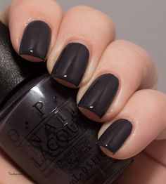 Lacky Corner: OPI - Suzi & The Arctic Fox Making fat fingernails in the home Opi Gel Nails, Opi Nail Polish Colors, Fall Nail Colors, Opi Gel Polish, Beautiful Nail Polish, Gorgeous Nails, Cute Nails, Pretty Nails, Fox Nails