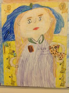 20 Years in the Future Self Portraits 4th Grade Artists