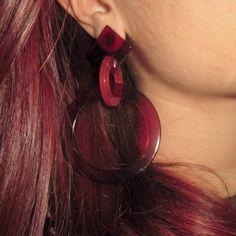 modì stile, orecchini, earrings, bijoux, orecchino, fashion blogger, bijoux, orecchini, gioielli, modì stile, cellulosa, thestylefever - Made in Italy
