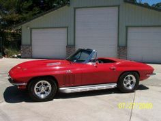 1966, Chevy Corvette Stingray  Original 427 Car, New 496 C.I. Motor, New Suspension, New Tires and Wheels, Original Tires and Wheels with Hubcaps available, New Leather Interior - See more at: http://www.cacars.com/1004409.html#sthash.S51L5fyz.dpuf