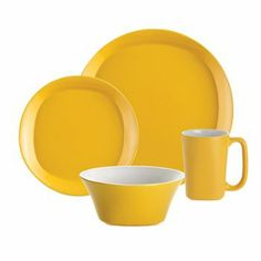 Rachael Ray Round and Square 16-pc. Dinnerware Set