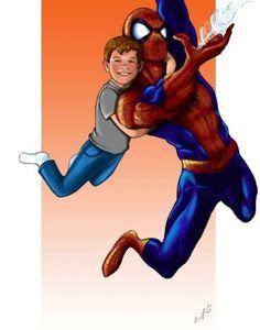 Spider-Man commission. Art by Carmen Zambrano