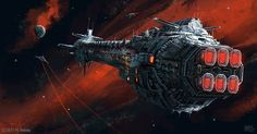 ArtStation - The Current of Space, Pat Presley