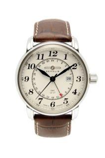 Zeppelin Graf Zeppelin ([Q] / - movement Ronda quartz-controlled, Swiss technology) Gents Watches, Cool Watches, Watches For Men, Wrist Watches, Dream Watches, Zeppelin Watch, Daniel Wellington, Bracelet Cuir, Watches Online