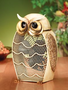 OMG I have to get this immediately. It is a fan...in the shape of an owl. Two of my favorite things