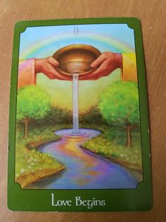 Love Begins Good Morning. The card that came for us today is Love Begins. This card came for us two weeks ago, maybe there is something we did not take to heart, so she came back. Our card is telli… I Am Blessed, I Am Grateful, Novena Prayers, Angel Prayers, Bright Quotes, Signs From The Universe, Divination Cards, Angel Guidance, Spiritual Love